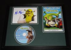 Mike Myers Signed Photo - Framed 11x14 & DVD Display Shrek