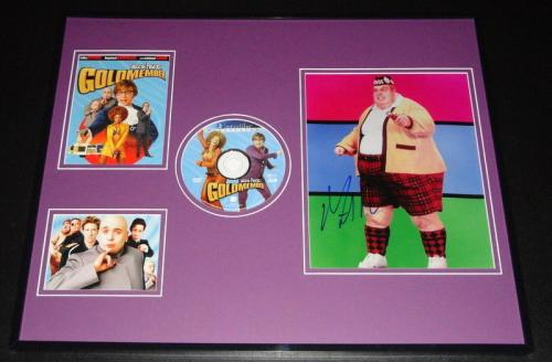 Mike Myers Autographed Photograph - Framed 16x20 & Austin Powers DVD Display AW