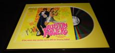Mike Myers Signed Framed ORIGINAL 1997 Austin Powers Laser Disc Display