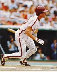 """Mike Schmidt Philadelphia Phillies Autographed 16"""" x 20"""" Batting Photograph"""