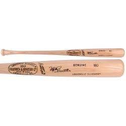 Mike Schmidt Philadelphia Phillies Autographed Louisville Slugger Tan Bat