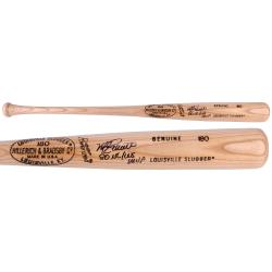 Mike Schmidt Philadelphia Phillies Autographed Louisville Slugger Tan Bat with 80 NL/WS MVP Inscription