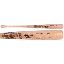 Mike Schmidt Philadelphia Phillies Autographed Louisville Slugger Tan Bat with HOF 95 Inscription