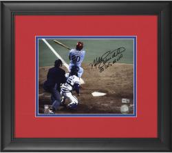 "Mike Schmidt Philadelphia Phillies Framed Autographed 8"" x 10"" Photograph with ""1980 World Series MVP"" Inscription"