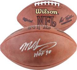 "Mike Singletary Autographed Wilson NFL Football with ""HOF 98"" Inscription"