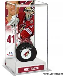 Mike Smith Arizona Coyotes Deluxe Tall Hockey Puck Case