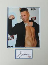 Mike Sorrentino Situation Jersey Shore Signed Index Card w/Matted Photo PSA/DNA