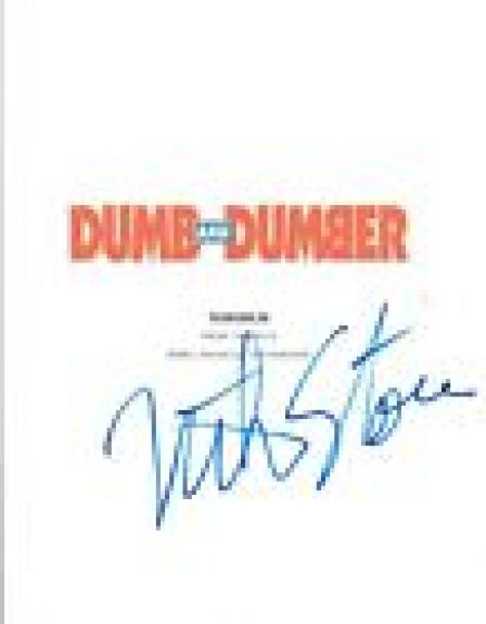 Mike Starr Signed Autographed DUMB AND DUMBER Movie Script COA VD