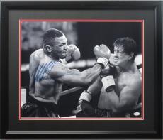 Mike Tyson 16x20 autographed Rocky photo framed JSA cert