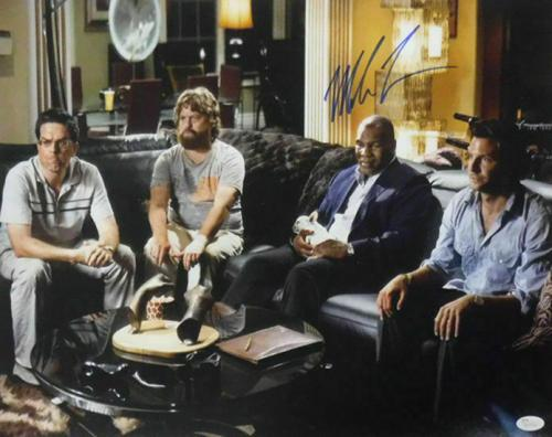 Signed Mike Tyson Photograph - The Hangover 16x20 JSA 14828