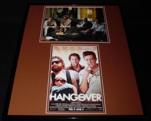 Signed Mike Tyson Picture - Framed 16x20 The Hangover Set JSA