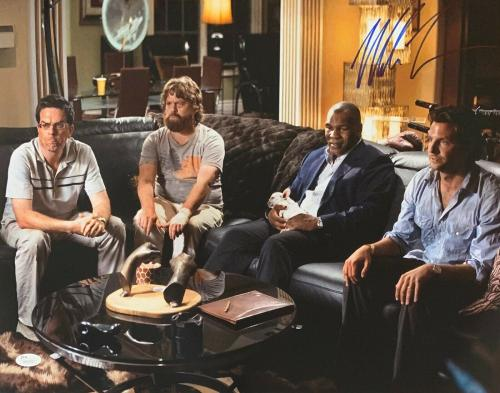 Mike Tyson Signed Photo - The Hangover 16x20 JSA