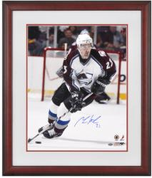 Framed Milan Hejduk Autographed 16x20 Photo