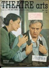 Mildred Dunnock Lee J. Cobb Death Of A Salesmen Theatre Arts Monthly Magazine