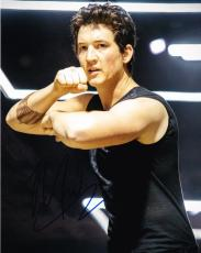 Miles Teller Signed 8x10 Photo Divergent Authentic Autograph Whiplash Coa A