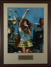Miley Cyrus 16x20 Concert Photo Framed Display