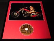 Miley Cyrus 16x20 Framed Live CD & Concert Photo Display