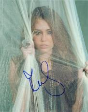 Miley Cyrus Signed - Autographed Sexy 8x10 inch Photo - Guaranteed to pass PSA or JSA