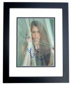 Miley Cyrus Signed - Autographed Singer - Actress 8x10 inch Photo - BLACK CUSTOM FRAME - Guaranteed to pass PSA or JSA