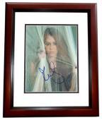 Miley Cyrus Signed - Autographed Singer - Actress 8x10 inch Photo - MAHOGANY CUSTOM FRAME - Guaranteed to pass PSA or JSA