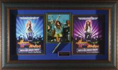 Miley Cyrus Best of Both Worlds Tour Signed Display
