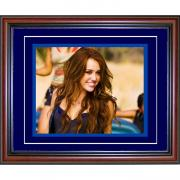 Miley Cyrus Framed 8x10 Photo