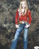 Miley Cyrus Hannah Montana Signed 8X10 Photo Autographed JSA #E17280