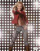 Miley Cyrus Hannah Montana Signed 8X10 Photo Autographed JSA #E48285