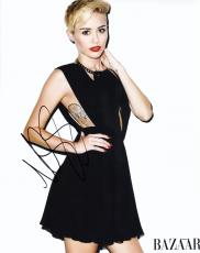 Miley Cyrus Signed - Autographed Singer - Actress 11x14 inch Photo - Guaranteed to pass PSA or JSA - The Voice Judge