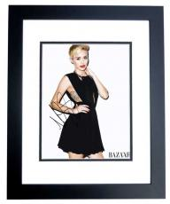 Miley Cyrus Signed - Autographed Singer - Actress 11x14 inch Photo - The Voice Judge - BLACK CUSTOM FRAME - Guaranteed to pass PSA or JSA