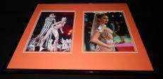 Miley Cyrus Signed Framed 16x20 Photo Set VMAs w/ Robin Thicke