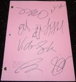 MILK Signed - Autographed Full Script by Sean Penn, Josh Brolin, James Franco, Victor Garber, Lucas Grabeel, Denis O'Hare, Diego Luna, and Emile Hirsch - Guaranteed to pass PSA or JSA