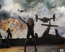 Milla Jovovich Hand Signed Autographed 11x14 Photo Resident Evil GA746277