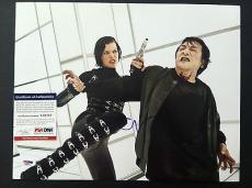 Milla Jovovich Signed 11x14 Photo Autograph Psa Resident Evil Retribution Proof