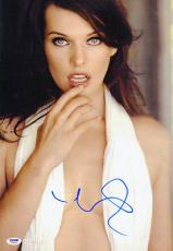 Milla Jovovich SIGNED 12x18 Photo SEXY Alice Resident Evil PSA/DNA AUTOGRAPHED