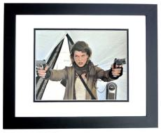 Milla Jovovich Signed - Autographed Resident Evil 11x14 inch Photo - BLACK CUSTOM FRAME - Guaranteed to pass PSA or JSA