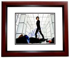 Milla Jovovich Signed - Autographed Resident Evil 11x14 inch Photo - MAHOGANY CUSTOM FRAME - Guaranteed to pass PSA or JSA