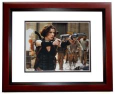Milla Jovovich Signed - Autographed Resident Evil 11x14 inch Photo MAHOGANY CUSTOM FRAME - Guaranteed to pass PSA or JSA