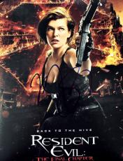 Milla Jovovich Signed - Autographed Resident Evil 8x10 inch Photo - Guaranteed to pass PSA/DNA or JSA
