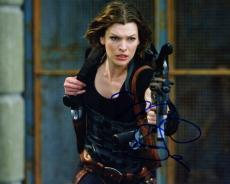 Milla Jovovich Signed - Autographed Resident Evil 8x10 inch Photo - Guaranteed to pass PSA or JSA