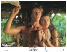 Milla Jovovich Signed Blue Lagoon Autographed 11x14 Photo PSA/DNA #X32007