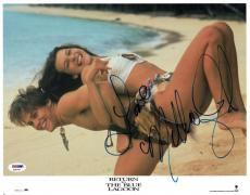 Milla Jovovich Signed Blue Lagoon Autographed 11x14 Photo PSA/DNA #X32009