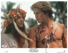 Milla Jovovich Signed Blue Lagoon Autographed 11x14 Photo PSA/DNA #X32011