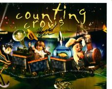 Millard Powers Counting Crows Signed 8x10 Photo UACC RD Coa AFTAL