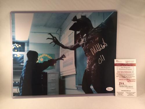 "MILLIE BOBBY BROWN SIGNED STRANGER THINGS 11x14 PHOTO JSA ""ELEVEN"