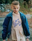 Millie Bobby Brown Autographed/signed Stranger Things 8x10 Photo 21014 Bas