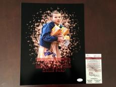 Autographed Bobby Brown Photo - Millie 11x14 Stranger Things Eleven JSA Witness Coa