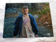 MILLIE BOBBY BROWN SIGNED 11x14 STRANGER THINGS BECKETT AUTHENTICATION