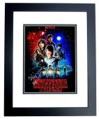 Millie Bobby Brown Signed - Autographed Stranger Things - 011 Inscription 11x14 inch Photo BLACK CUSTOM FRAME - Guaranteed to pass PSA or JSA