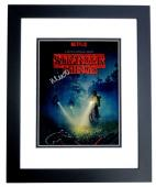 Millie Bobby Brown Signed - Autographed Stranger Things - Eleven 11x14 inch Photo BLACK CUSTOM FRAME - Guaranteed to pass PSA or JSA